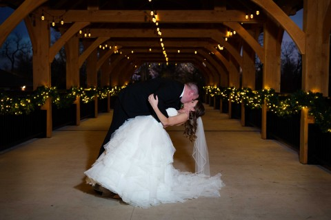 Christmas wedding, Hawk Photography