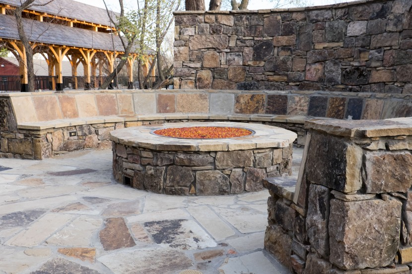 Outside Firepit, 81 Ranch, Lisa White Photography
