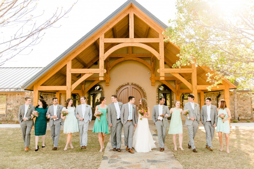Bridal Party, photo courtesy of Holly Gannett Photography