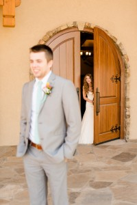 First look, photo courtesy of Holly Gannett Photography